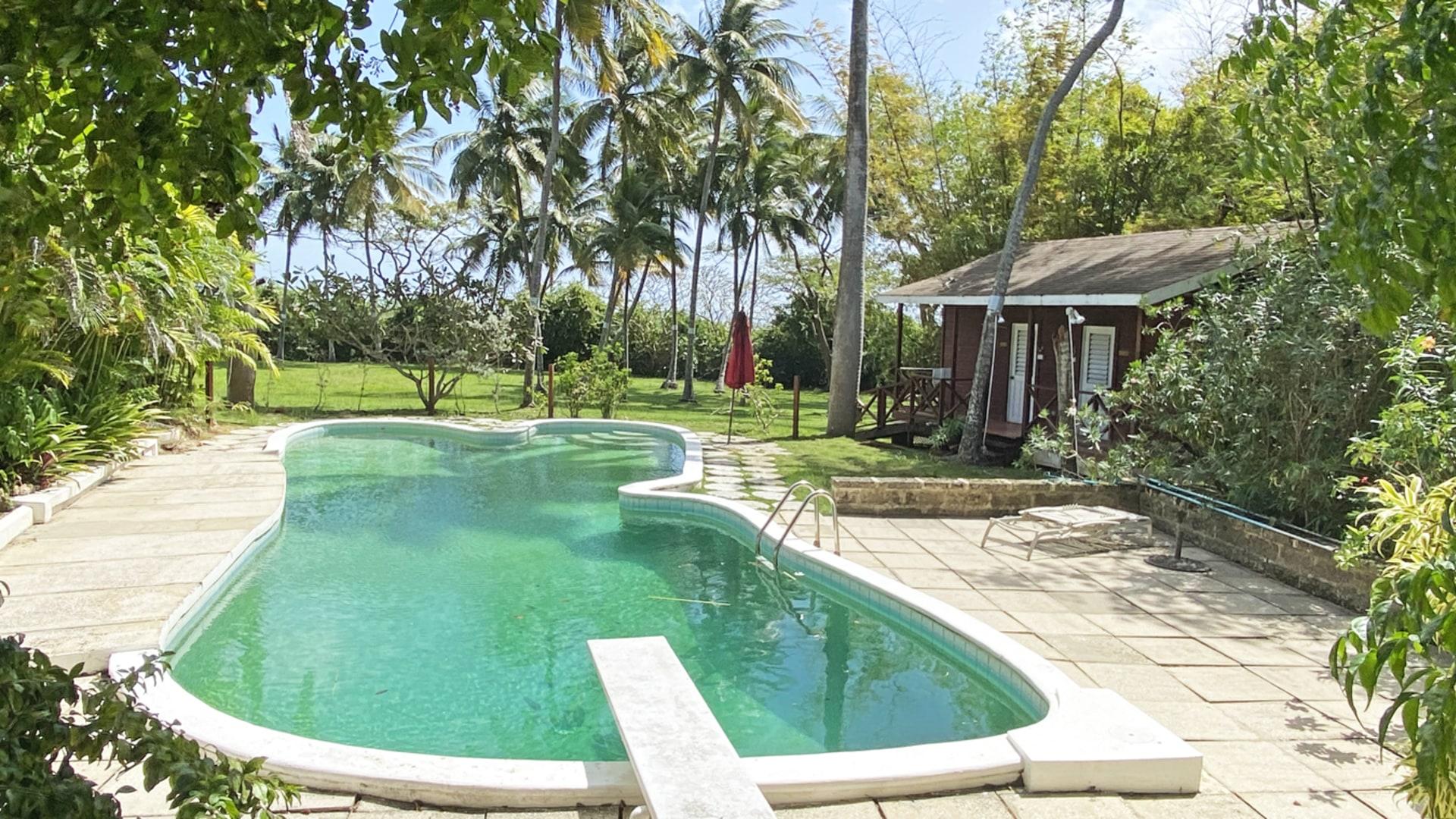 Large Pool & Changing Rooms