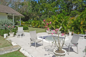 Cottage plunge pool and pool terrace