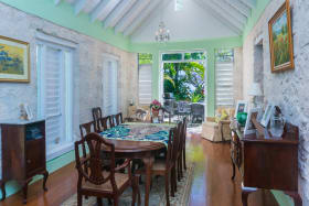 Bright Spacious Dining Room