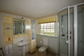 Large second bathroom