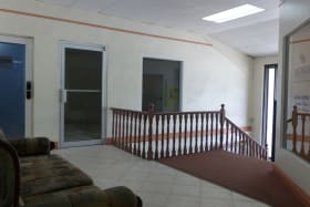 Foyer to the office area