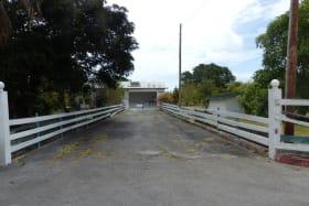 Original Entrance to the property