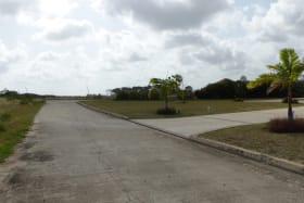 Development road facing west