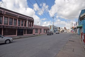 Plaza Central - Roebuck Street view