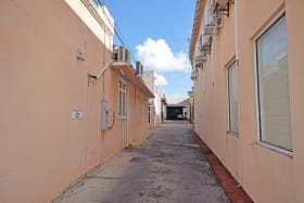 Plaza Centrale driveway leading from Roebuck Street