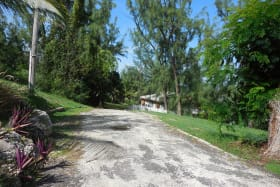 Road way to the land