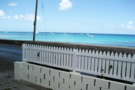 View of the sea from Snugness