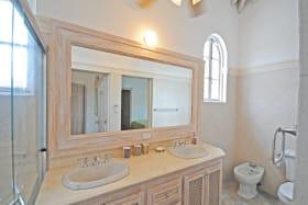 Shared bathroom upstairs