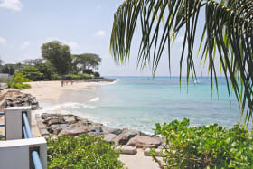 Access to beachfront from Beach Club