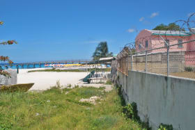 View from the site looking north from the beach