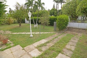 Well landscaped lawn
