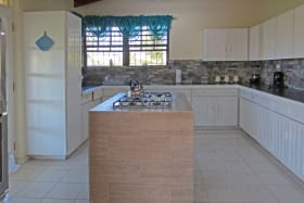 Well equipped and spacious kitchen