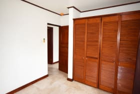 Second bedroom with fitted wardrobes