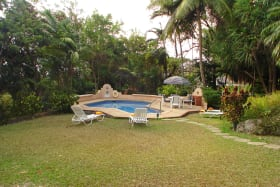Lush gardens offering exclusive privacy