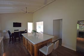 Big kitchen and casual dining