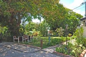 Shared garden next to Studio 1