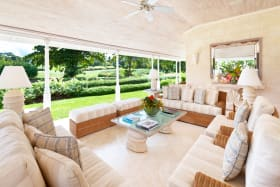 East facing Lounge enjoys wonderful Golf Course views and cool breezes