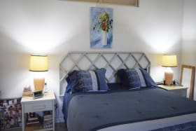 Master bedroom on east side