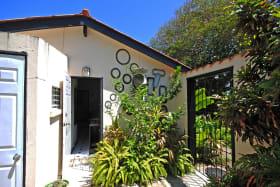 Access door to Studio from pool courtyard