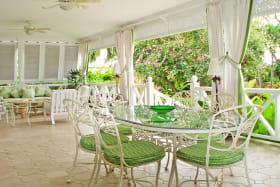 Dining verandah