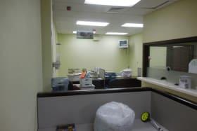 Ground floor office area