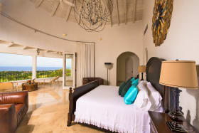 Master suite on the 3rd floor with panoramic sea views