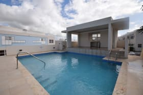Shared Pool and Wet Bar