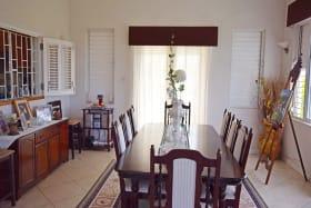 Dining room on east side