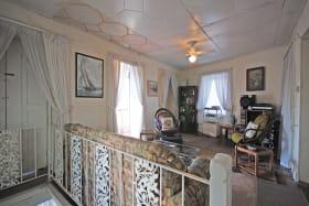 Main sitting room opens to balcony