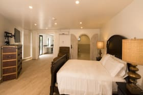 Large junior master suite on the ground level