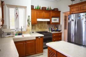 Kitchen on west side