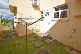Drying Area and Kitchen Door