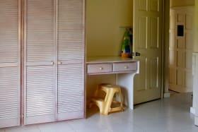 Cupboards in Second Bedroom