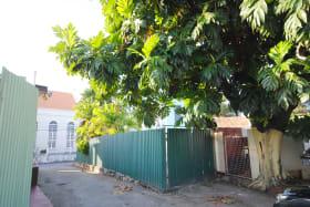 Electric gates at back of residence on Mango Lane