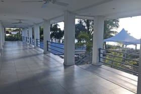 Terrace beside office