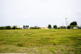 View of land showing houses in Phase 1