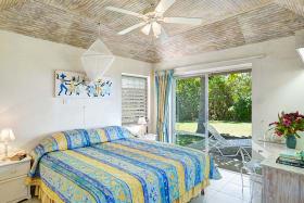 Bedroom 2 opens to balcony