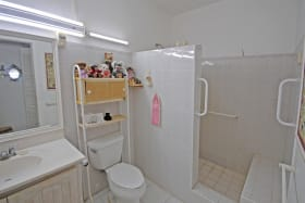Largest bathroom
