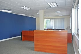 Open plan office space
