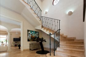 Beautiful Foyer and staircase