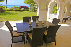 Dining Patio & Gardens