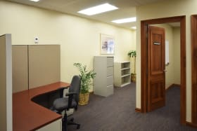 Private Offices and Open Plan Areas
