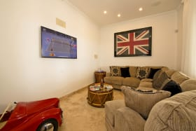 Main floor TV den