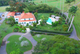 Aerial photo of Plantation house