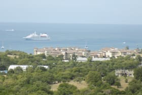 View of the Landings and the Caribbean Sea