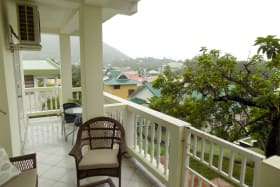 Patio Looking out to Rodney Bay