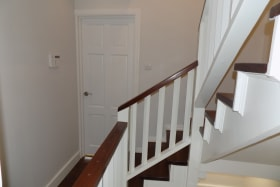 Wooden Finishes on Internal Staircase