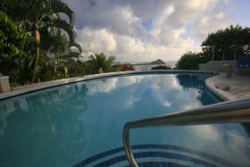 Pigeon Island from the Pool