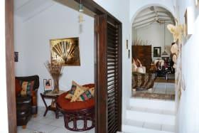 Hallway off Living Room into bedroom area