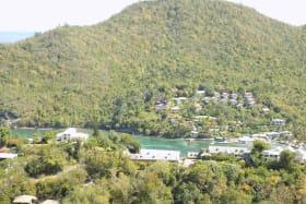 View of Marigot Marina